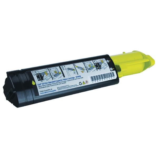 Dell Yellow Laser Toner Cartridge 593-10156