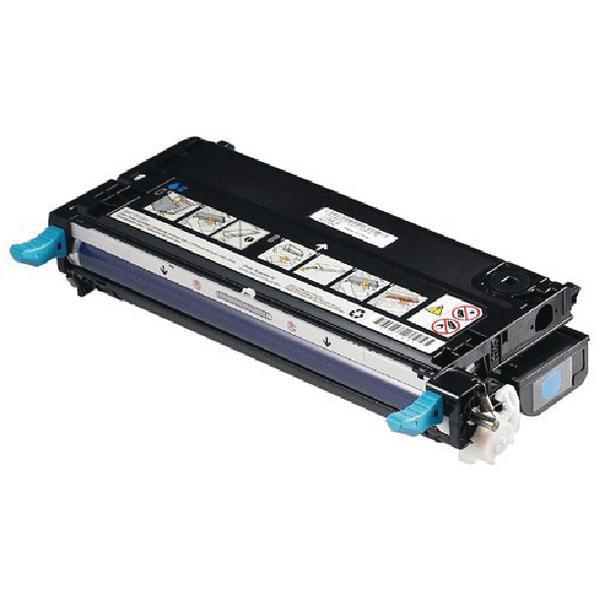 Dell Cyan Toner Cartridge (4,000 Page Capacity) 593-10166
