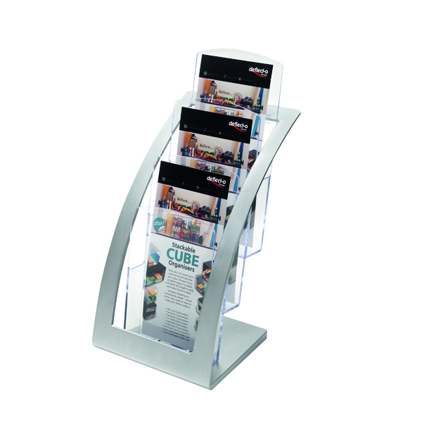 Deflecto Contemporary Counter Top Stand 693745