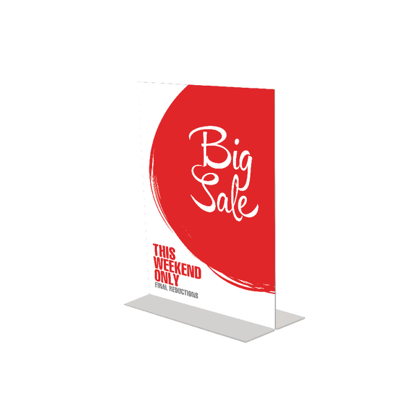 Image for Announce Stand Up Sign Holder A6