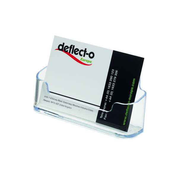 Deflecto Business Card Holder 70101