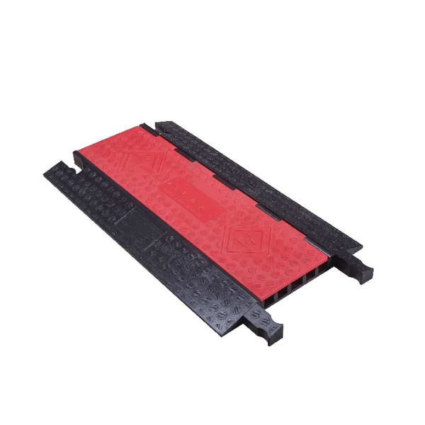 Extra Heavy Duty 5 Channel Drive Over Cable Cover L910mm x W505mm x H45mm DX-5RB910