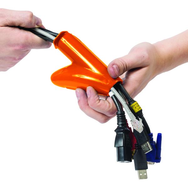 D-Line Cable Zipper 25mm Black 10m CZ2510B