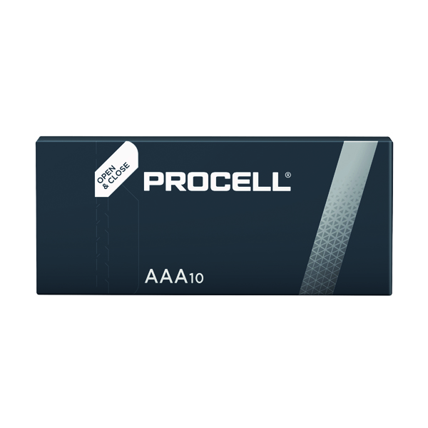 Image for Duracell Procell AAA Batteries (Pack of 10) 5007617 (0)