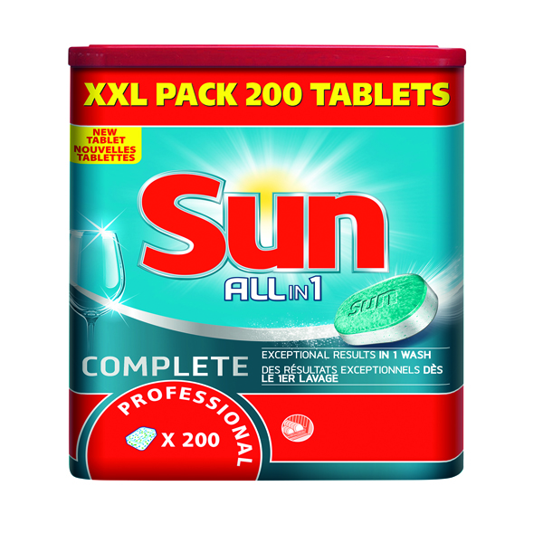 Sun Professional Dishwasher Tablets (Pack of 200) 7515858