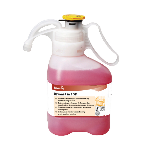 Diversey Taski Sani 4-in-1 Disinfectant SmartDose 1.4 Litre 7521347