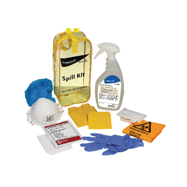 Diversey Oxivir Plus Body Spillage Kit 100840608