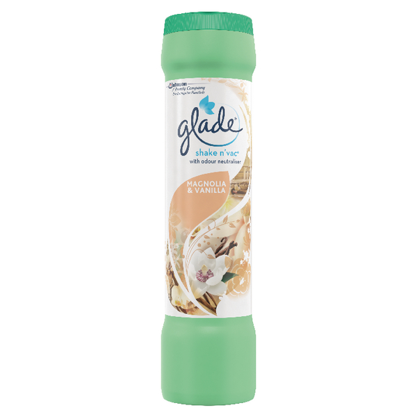 Image for Glade Shake and Vac Magnolia and Vanilla 500g 683254