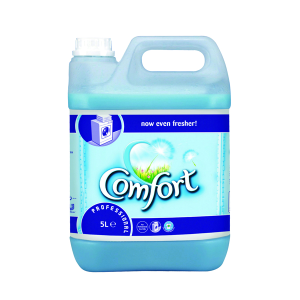 Image for Comfort Professional Fabric Softener 5 Litre (Pack of 2) 7508496