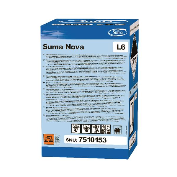 Diversey Suma Nova L6 Detergent 10 Litre (Helps prevent build-up of limescale) 7510153