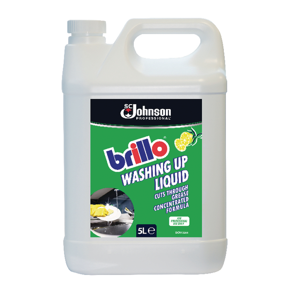 Brillo Concentrated Washing Up Liquid 5 Litre BWU5LTR