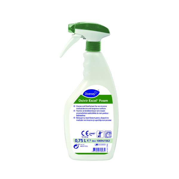 Oxivir Excel Foam Disinfectant 750ml (Pack of 6) 100941562