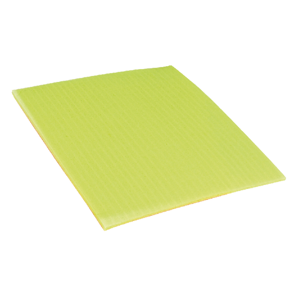 Ecotech Sponge Cloths 200x180mm Yellow SC100