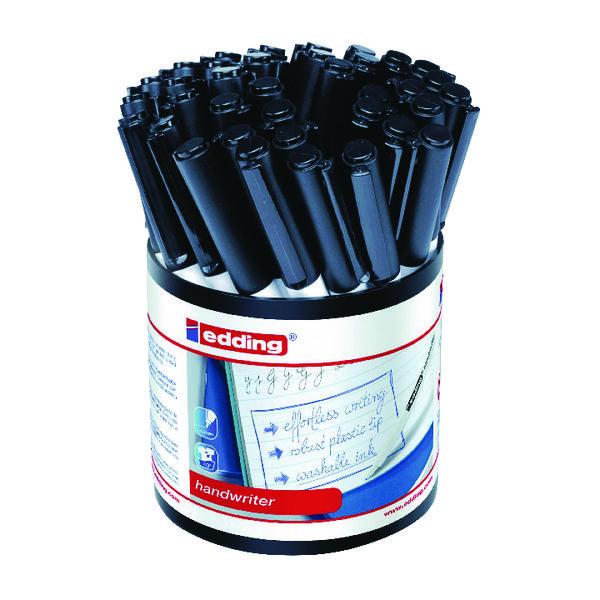 Edding Handwriter Pen Black (Pack of 42) 1408001