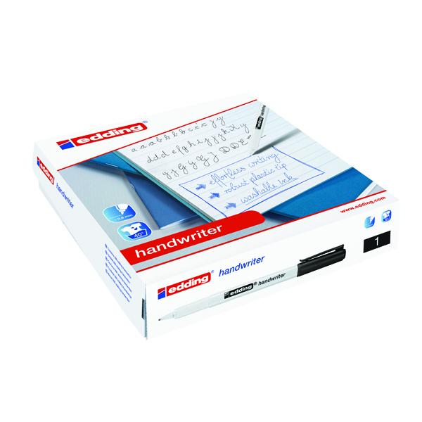 Edding Handwriter Pen Black (Pack of 200) 300462000
