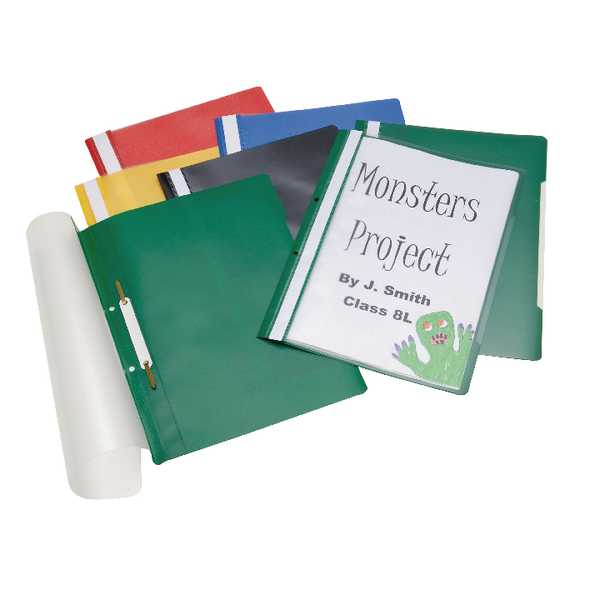 Classmaster Project Files Assorted (Pack of 100) PFA100