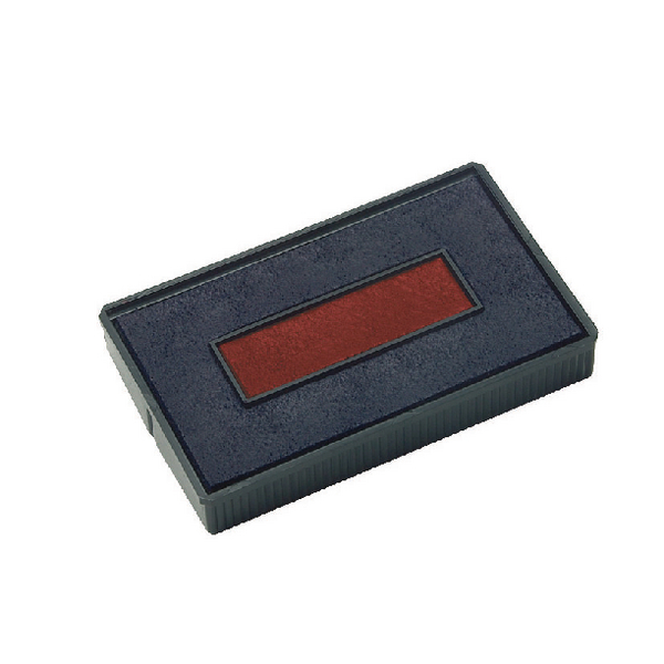 COLOP E/200/2 Replacement Ink Pad Blue/Red (Pack of 2) E/200/2