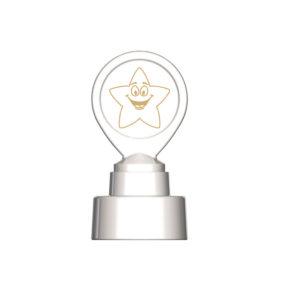 Image for Colop Motivational Stamp Gold Star MOTIVSTGD