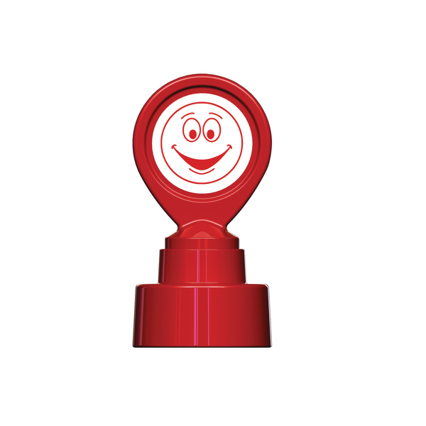 Image for Colop Motivational Stamp Happy Face Red MOTIVSM