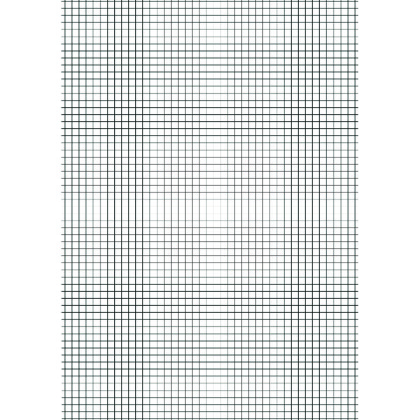 Education A4 Exercise Paper 10mm Squares 500 Sheets (Pack of 5) NU922006