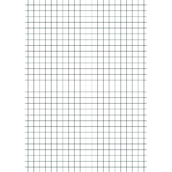 Education A4 Exercise Paper 5mm Squares 500 Sheets (Pack of 5)
