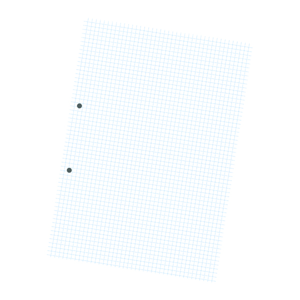 Image for Exercise Paper A4 5mm Squares 2 Hole Punched Pack of 2500 NU922005