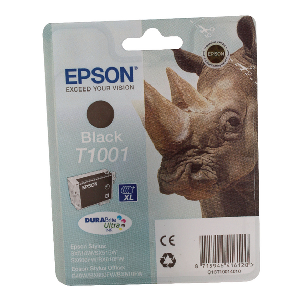 Epson T1001 Black Ink Cartridge C13T10014010 / T1001