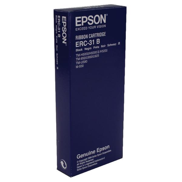 Epson ERC31 Fabric Black Ribbon C43S015369