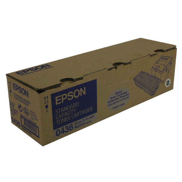 Epson S050436 Black Toner Cartridge C13S050436 / S050436