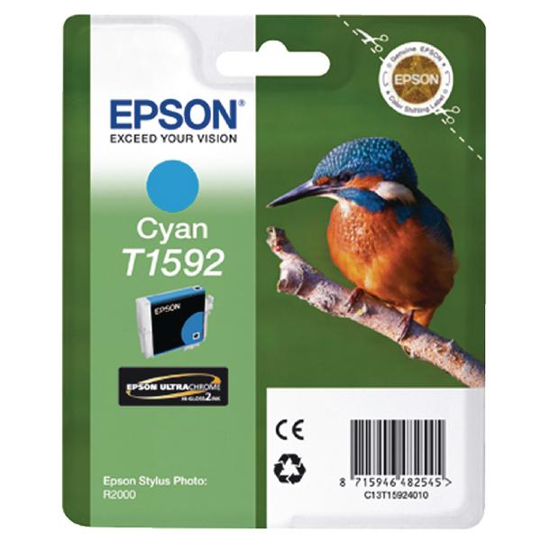 Epson T1592 Cyan Inkjet Cartridge C13T15924010 / T1592