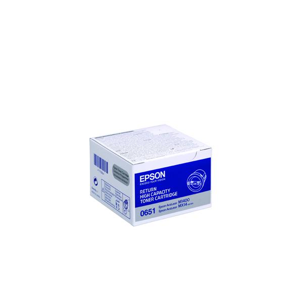 Epson S050651 Black High Yield Return Toner Cartridge C13S050651 / S050651