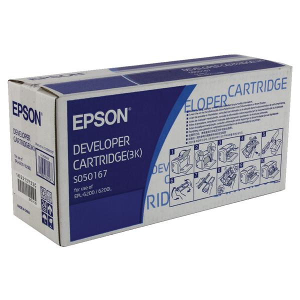 Epson Standard Yield Toner/Developer Cartridge EPL-6200L Black C13S050167