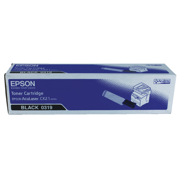 Epson S0503 Black Toner Cartridge C13S050319 / S050319