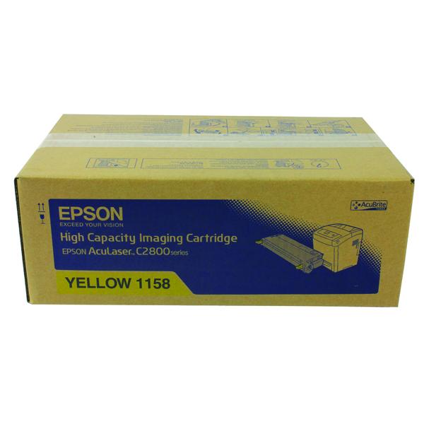 Epson S0511 Yellow Toner Cartridge High Capacity C13S051158 / S051158