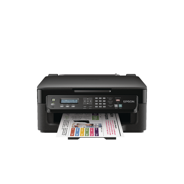 Image for Epson Black WorkForce WF-2510WF All-in-One Wireless Colour A4 Inkjet Printer C11CC58301