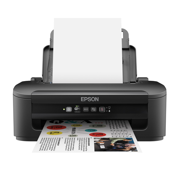 Epson Black WorkForce WF-2010W Wireless Colour A4 Inkjet Printer C11CC40301