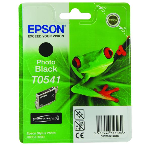 Epson T0541 Photo Black Inkjet Cartridge C13T05414010 / T0541