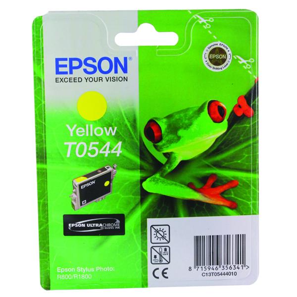 Epson T0544 Yellow Inkjet Cartridge C13T05444010 / T0544