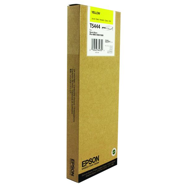 Epson Stylus Pro 9600 Inkjet Yellow Cartridge C13T544400
