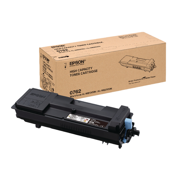 Epson S050762 Black Toner Cartridge C13S050762