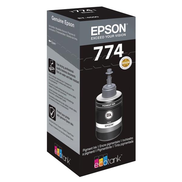 Epson T7741 Pigment Black Ink Bottle 140ml C13T774140