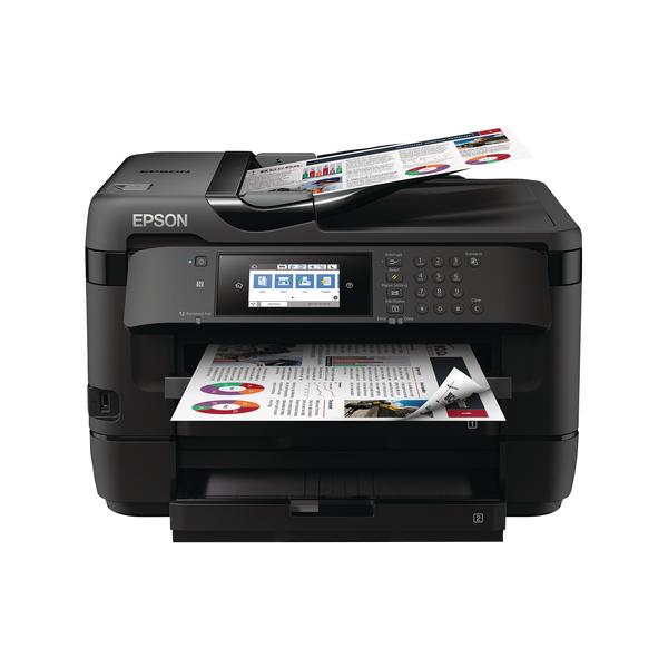 Epson WorkForce WF-7720DTWF Inkjet Printer C11CG37411