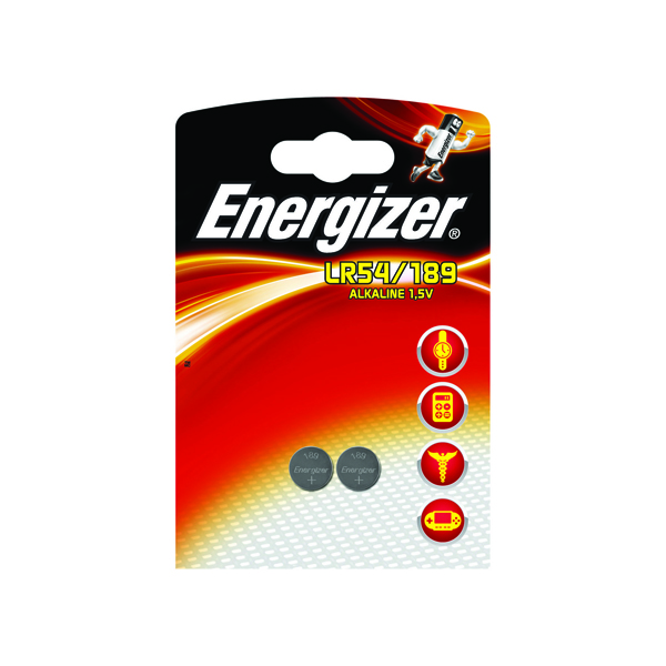 Image for Energizer Speciality Alkaline Batteries 189/LR54 (Pack of 2) 623059