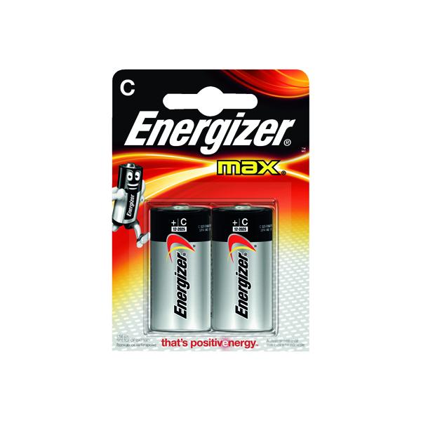 Energizer MAX E93 C Batteries (Pack of 2) E300129500