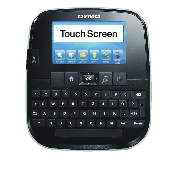 Dymo Black LabelManager 500 Touch Screen Label Printer S0946420