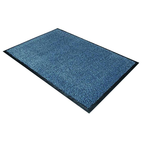 Doortex Dust Control Door Mat 1200x1800mm Blue 49180DCBLV