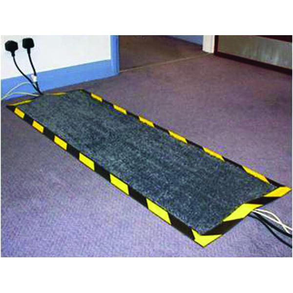 Floortex Kable Mat 400x1200mm Black FCKAB40120