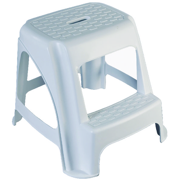 Image for GPC White Plastic Step Stool HE400Z