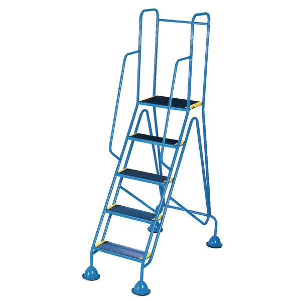 Fort Mobile Steps 5 Tread Full Handrail WS515