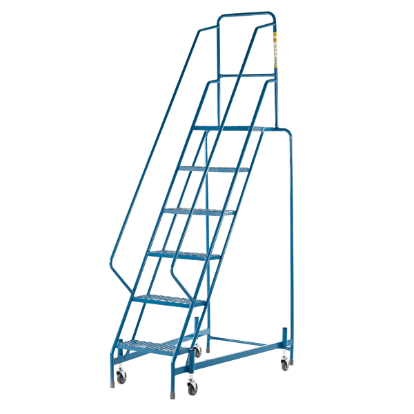 Mobile Steps 6 Step Full Handrail WM7016